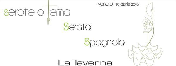 29 Aprile Serata Spagnola